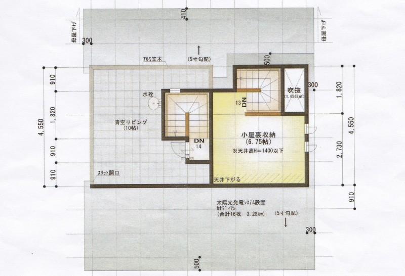桧家住宅 図面