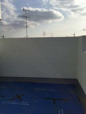 青空リビング 壁