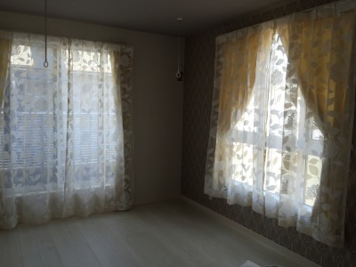 寝室 カーテン