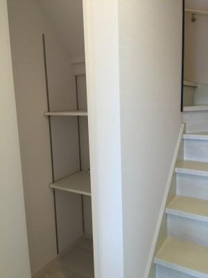 2階ホール 収納